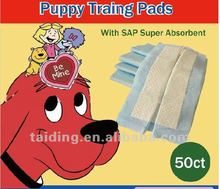 2012 hot sale puppy pet wee-wee pad(40x60cm,60x60cm,60x90cm)