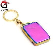 2017 New Electronic USB Chargeable Lighters with keychain