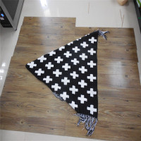Fashion crochet baby blanket manufacturer in China Cotton Crossn Baby Hand Crochet Blanket