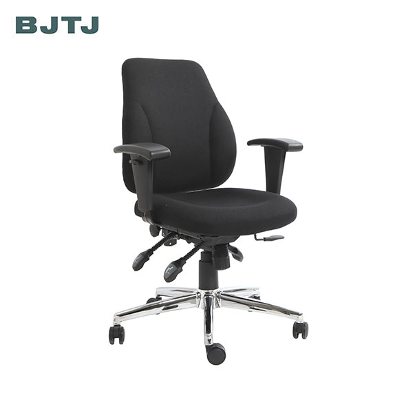 BJTJ cheap ergonomic office work chairs with armrest and tilt adjustable feature