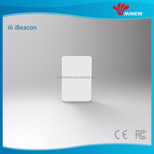 Small thinest white iBeacon sticker BLE beacon card blue tooth advertising beacons ble