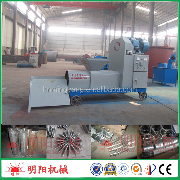 Hight quality biomass briquette making machine plant/charcoal briquette extruder machinery/wood timber briquette press equipment