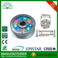 9W/IP68/Recessed LED Underwater/Pool/Pond Light(Private tooling/mould)