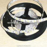 60leds/m 5630 SMD White Color LED Flexible Strip, DC12V/24V input, 5m/roll, waterproof IP20/IP65/IP67
