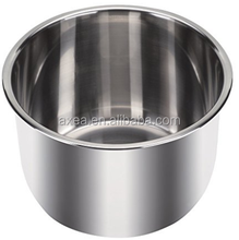 Stainless steel 304 inner pot for electric pressure cooker and rice cooker