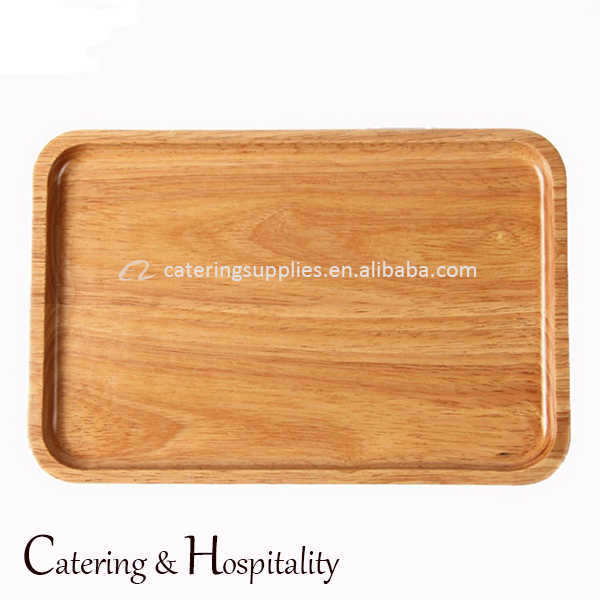 High Quality Custom Serving Wood Tray for Restaurants