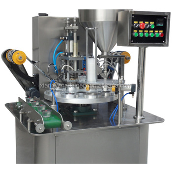 hot sell soybean milk filling sealing machine