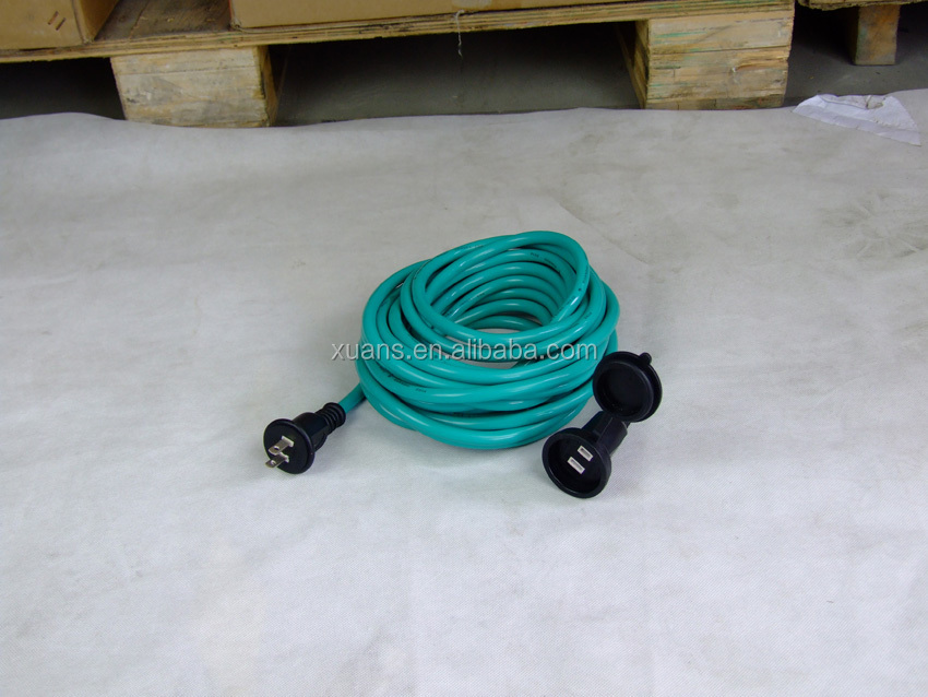 PSE standard japan waterproof plug extension cord JL-14/JL-14A