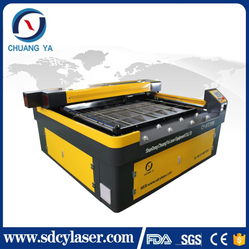 chuangya famous brand yongli 150w co2 laser cutter cutting machine for 15-20mm acrylic and wood