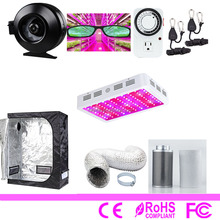 hydroponic indoor led grow light vertical box complete grow tent kit system