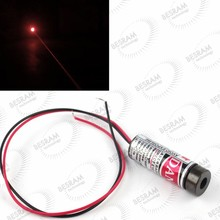 Precision Focusable 650nm 5mw 10mw 50mw Red Dot line cross Laser Module for 1064nm ND:YAG laser machine