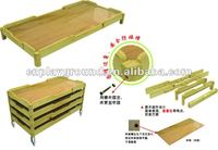 kids solid wood bed !!!! ASTM ,CE,GS certificate kids solid wood bed wooden full size toddler bed kids (H-06204)