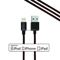 MFi authorized license for apple certified cable supplier wholesale colorful usb data cable for iphone 5 cable charger ios8