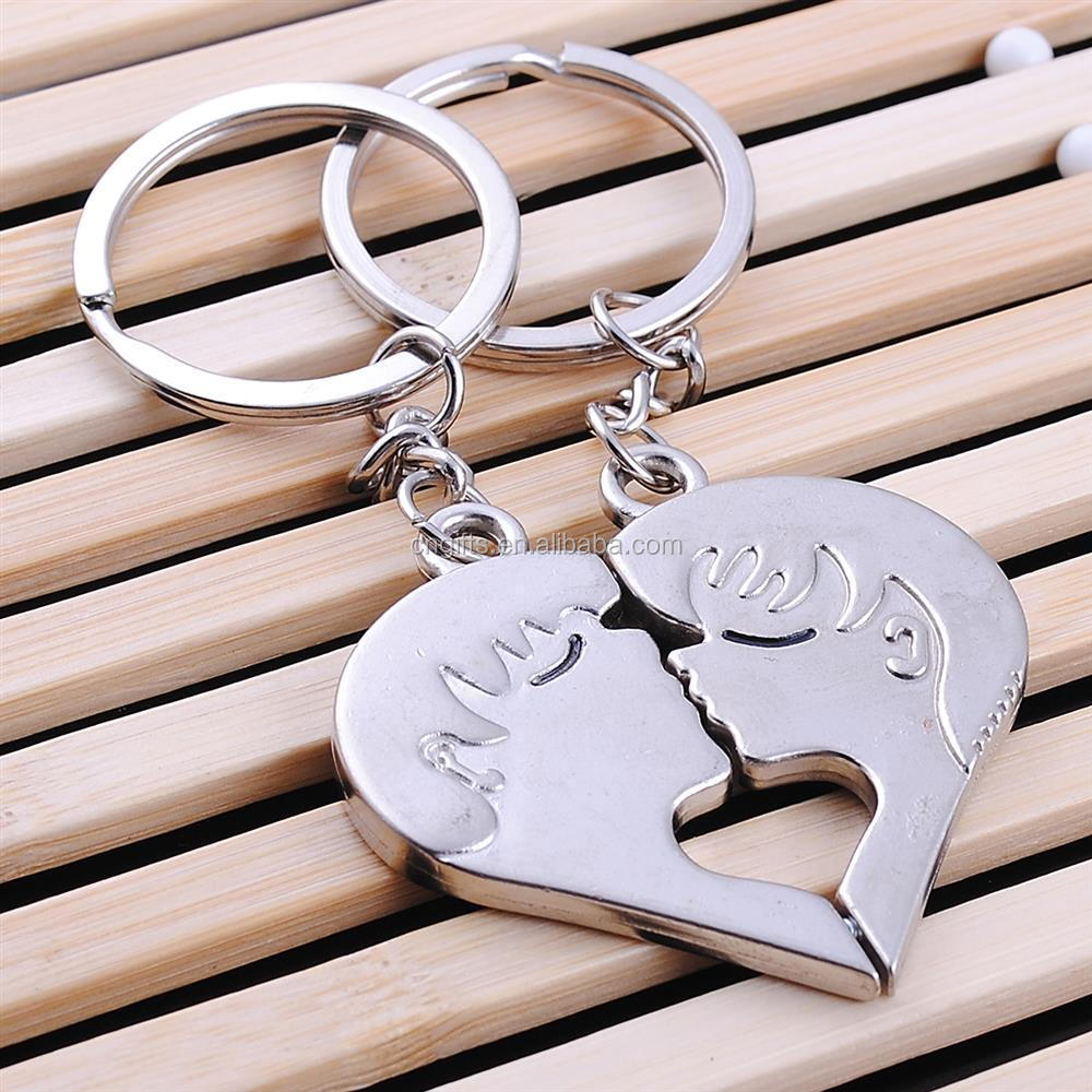 Hot Sell Valentine S Day Gift Heart Zinc Alloy Metal Paired Key