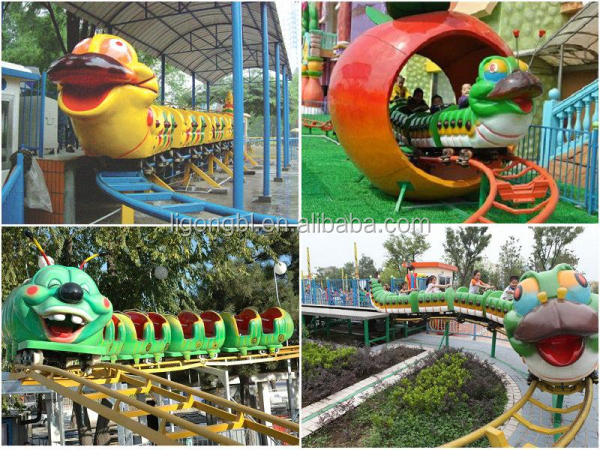 mini caterpillar roller coaster for sale