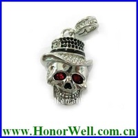New Fashionable Skull Jewelry New Model Pen Drive for Gift