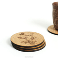 wooden drink coasters wine coasters wooden decor