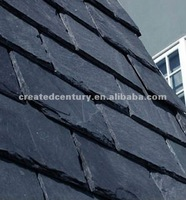 Natural black thick roofing slate