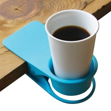 Custom Colored Plastic Table Sofa Tea Coffe Cup Holder