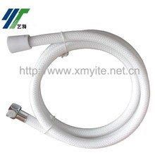 Bathroom White Clear PVC Shattaf Glass Plumbing Hose Pipe