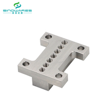 China stainless steel vibrator body machining parts