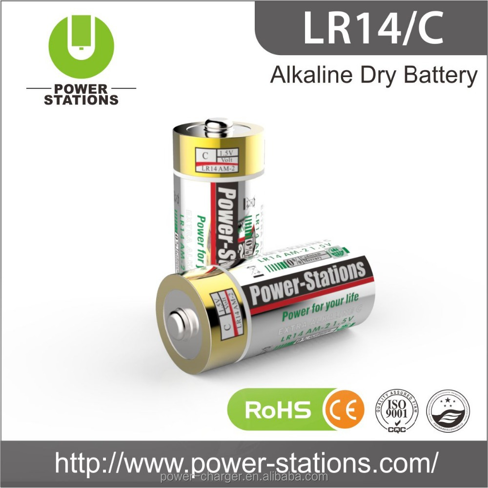 Alkaline Dry Battery AA/AAA/C/D 9V Battery Series