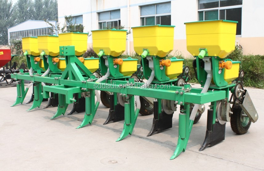 Beat price 2 row corn planter tractor seeder