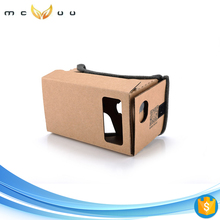 Cheap Google Cardboard Paper Virtual Reality stimulate vr headset noon