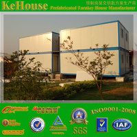living house,office,toilet,storage use and sandwich panel material log cabin