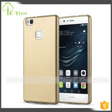 Newest product many color available thin shockproof metallic tpu cell phone case for honor huawei P9 Lite