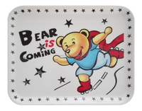 Kids melamine tray