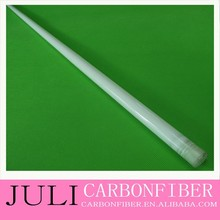 plastic tapered tubes, fiberglass wrapped tapered boom rods, wall thickness 0.5mm 0.8mm 1mm