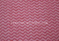 Wave Pattern Printed Woodpulp Spunlace Nonwoven Fabric