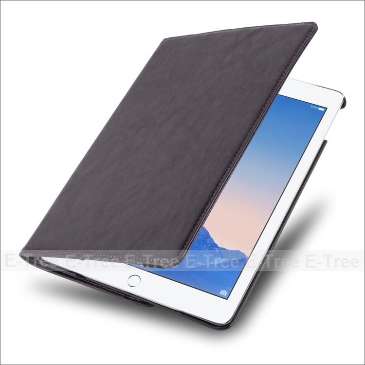 Protective NEW leather PU smart case stand card slot magnetic tablet case for iPad case, for IPAD 2 3 4 5 6 AIR/MINI/PRO