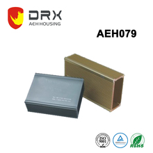 Custom extruded aluminum electronic extrusion enclosure for power bank