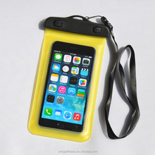 Hot products high quality custom water proof cell phone cases mobile phone PVC waterproof bag for promotional gift