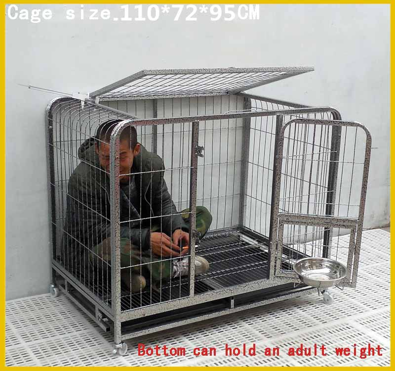 Made in china factory direct sale foldable dog houselarge for Large dog cages for sale cheap