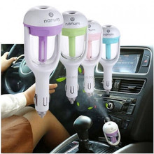 50ml USB Mini Humidifier Led Night Light Air Purifier Essential Oil Diffuser Aroma car humidifier
