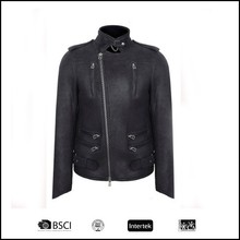 2015 cheap leather motorcycle leather garment made in china