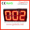 Outdoor traffic counter 3 digit queue management system