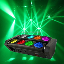 CE RoSh approval 8x10w RGBW 4 IN 1 led spider beam bar moving head