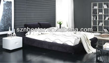 2013 latest euro style fabric soft bed ,bedroom furniture