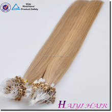 Remy double drawn full ends factory price mini micro bead nano hair extension