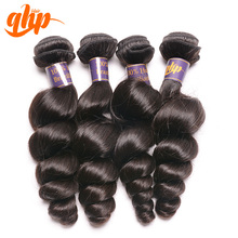 Top 10 sales hair salon products loose curly full cuticle Brazilian hair extensions