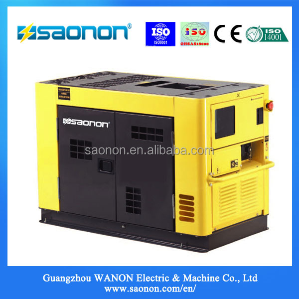 11kva China Electric Portable Electric Diesel generator with Competitive Price Digital Generator
