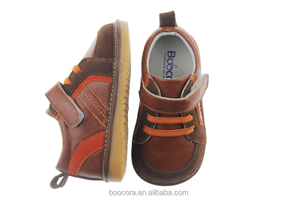 Latest design high quality wholesale boy baby shoes SQ-A628-BR
