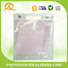 wholesale Fashionable waterproof Transparent Clear PVC Cosmetic Bag