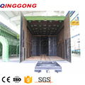 Automatic Sand Blasting Room with Trolley System