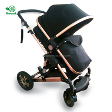 2018 greensky EN1888 CE approved European standard baby stroller 3 in 1 remote control baby carriage