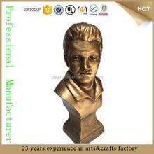 elvis figurine elvis presley bust sculpture ornaments elvis statue for collection